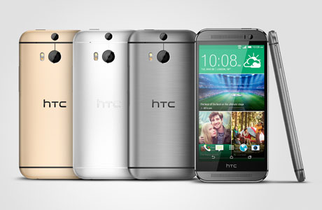 HTC One M8 NFC mobile handset