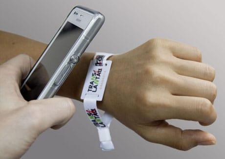 Racematrix NFC wristband