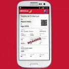 Iberia and Samsung are to introduce NFC boarding passes