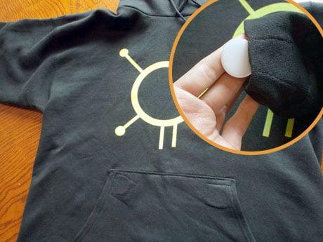 Zuzance's NFC hoodie