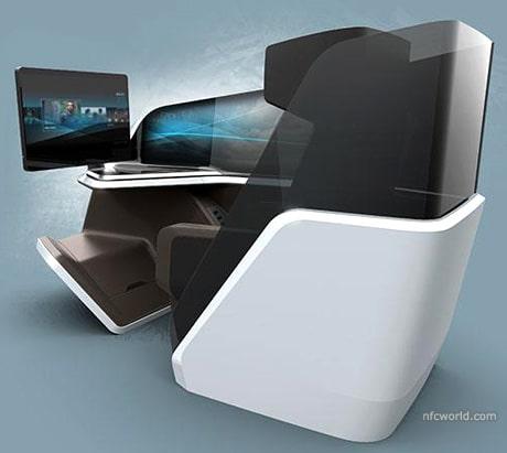 Thales NFC aircraft seat
