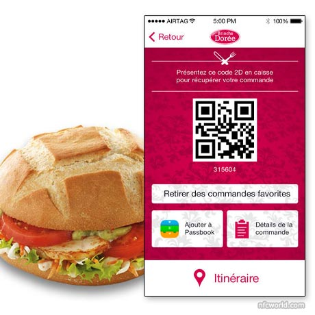 Brioche Doree customers can order ahead with a mobile app