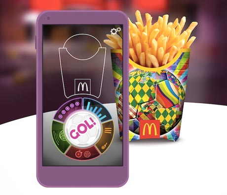 McDonalds Gol World Cup app