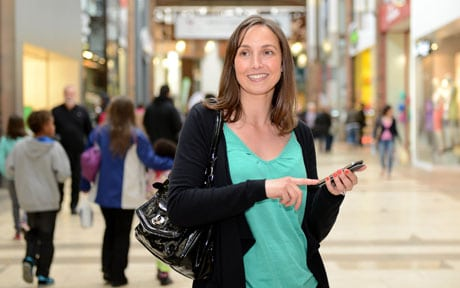 Solihull's Touchwood shopping mall has a multi-retailer NFC-based marketing programme