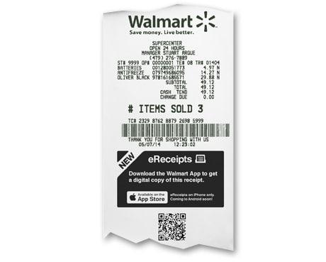 Walmart Turns Digital Receipts Into Shopping Opportunities Nfc World