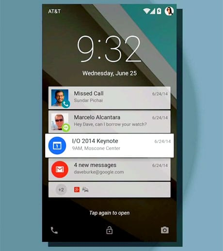 Notifications get bigger and bolder in the next version of Android