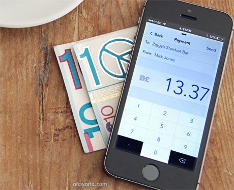 The Brixton Pound app