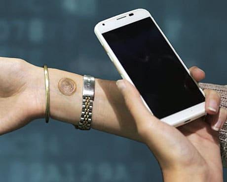 VivaLnk's NFC tattoo
