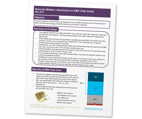 'Security Matters: Americans on EMV Chip Cards