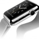 Apple Watch with Milanese strap