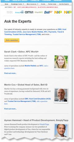 The NFC World Expert Panel