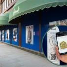 NFC advertising at Harrods