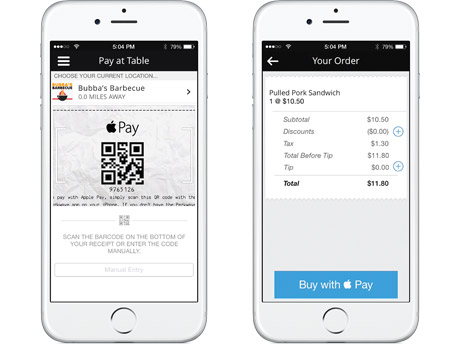 Perkwave Builds In Apple Pay For Pay At The Table Nfc World
