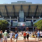 The Arthur Ashe Stadium at Flushing Meadows (Mike Lawrence/usopen.org)