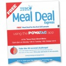 An email promotes Tesco's trial of Powatag payments