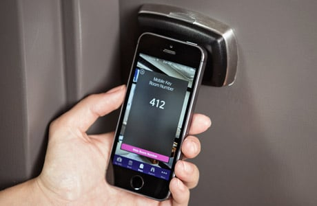 Starwood's SPG Keyless Bluetooth mobile key