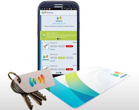Walmoo mobile loyalty platform