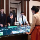 Cooper Hewitt Design Museum Ideum touch tables and interactive pens