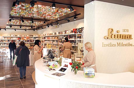 Laima shop interior