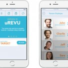 uRevu customer service rating app