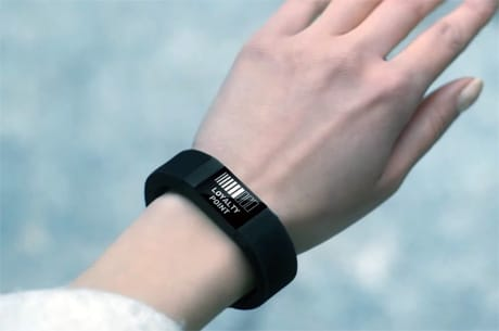 Wirecard's wristband offers tokenized NFC payments and a display
