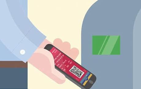 FC Barcelona mobile ticket