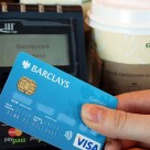 Barclays contactless debit card