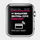 Apple Watch as a contactless room key