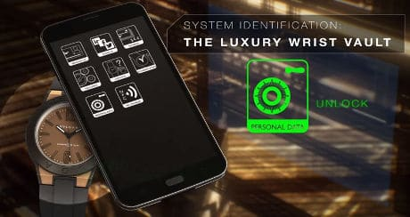 The Bulgari Diageno Magnesium luxury smartwatch with NFC