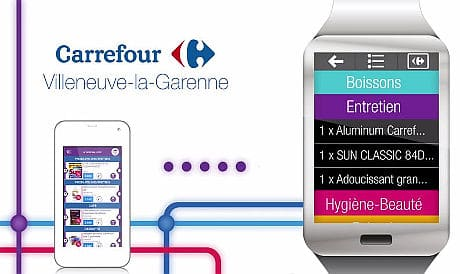 Carrefour at Villeneuve-la-Garenne