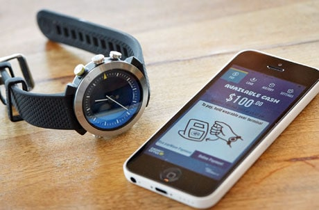 Cash by Optus NFC Watch unveiled at Mobile World Congress 2015 in Barcelona