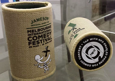 Jameson's NFC stubby holders