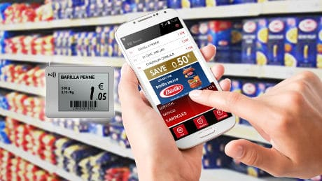 French supermarket chain Intermarché has introduced an NFC shopping service at its Issy-les-Moulineaux store near Paris