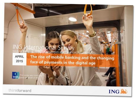 ING Mobile Banking survey of European mobile wallet and payments users