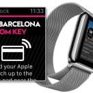 The SPG app running on an Apple Watch