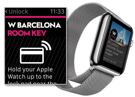 Lock Apple Watch Apple Watch up to The Lock