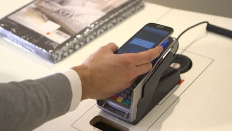 zahl-einfach-mobil NFC mobile payments system in Berlin