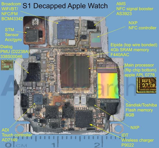 inside of face diagram apple watch carries nfc components from nxp and ams     nfc  apple watch carries nfc components from nxp and ams     nfc
