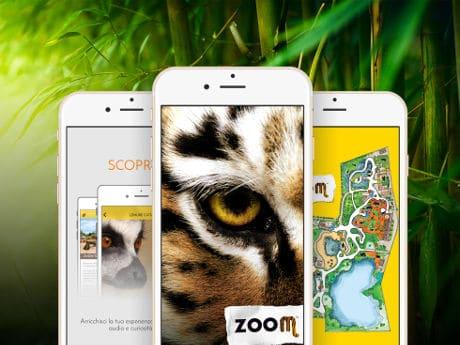 Zoom Torino Biopark app developed by LabWerk