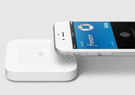Square's contactless reader will process Apple Pay transactions