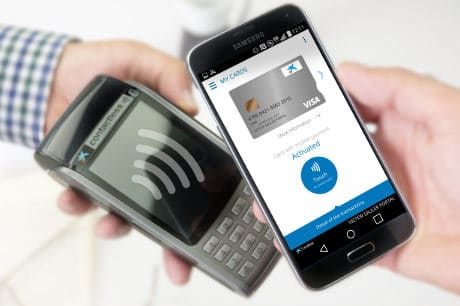 CaixaBank Pay app, allowing for HCE mobile payments