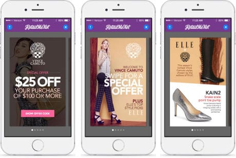 Elle magazine's 'Shop Now! With Elle' service