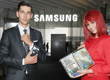 Samsung C&T Fashion Smart Suit 4.0 and On Bag with NFC