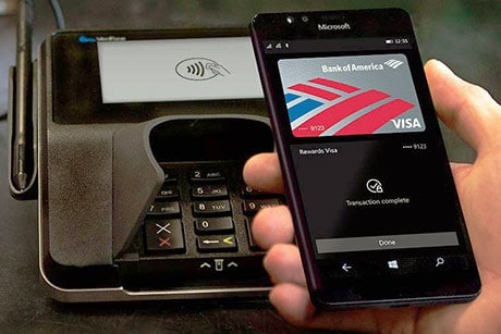 NFC payments come to Windows 10 Mobile