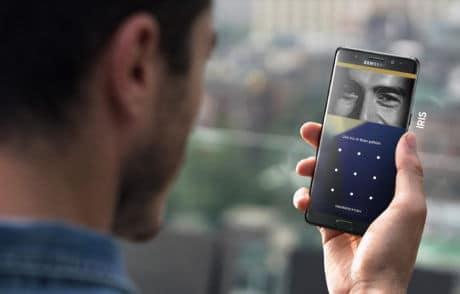 Samsung Pay Iris