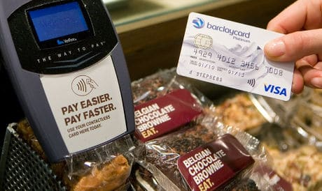 barclaycard contactless