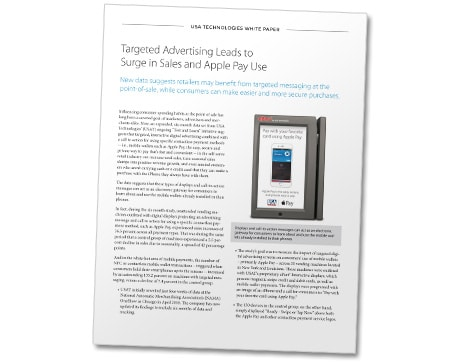 USAT Targeted Advertising leads to Apple Pay surge
