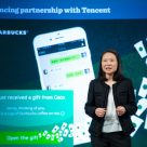Starbucks China CEO Belinda Wong announces WeChat Pay partnership