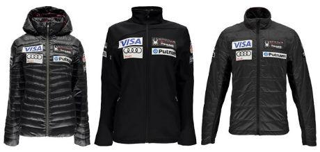 US Ski Team Spyder clothing range