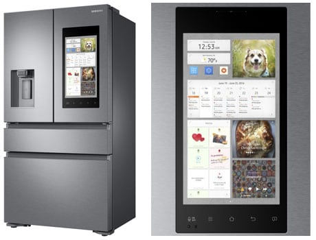 Samsung smart fridge Family Hub 2.0